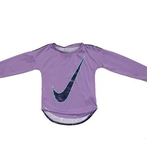Girls Nike Dri-Fit Long-Sleeve Shirt
